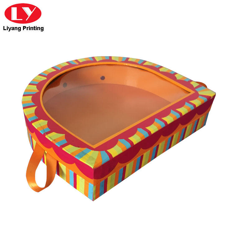 Liyang Paper Packaging shaped shape box for chocolate