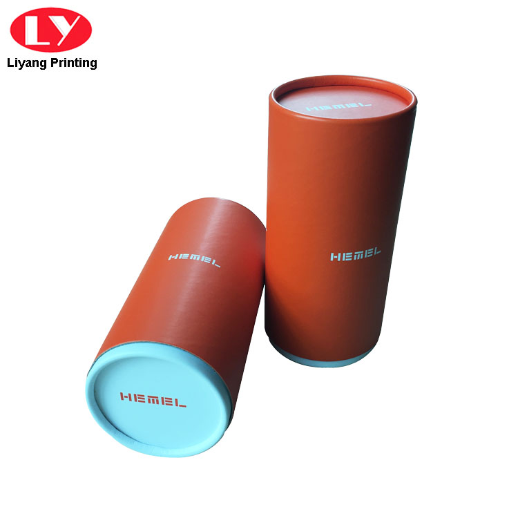 Custom Logo Paper Round Candle Packaging Box with Lid-4