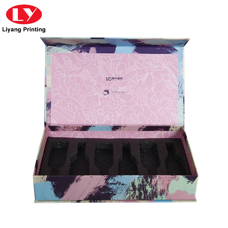 Liyang Paper Packaging pink cardboard cosmetic box factory price for makeup-5