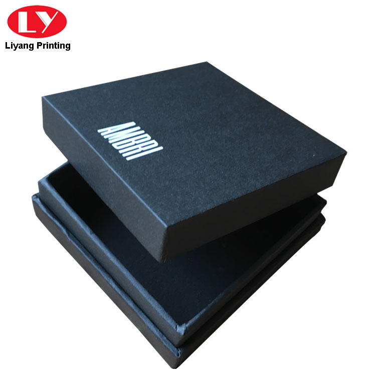 black cardboard jewelry boxes wholesale ODM for small bracelet Liyang Paper Packaging-5