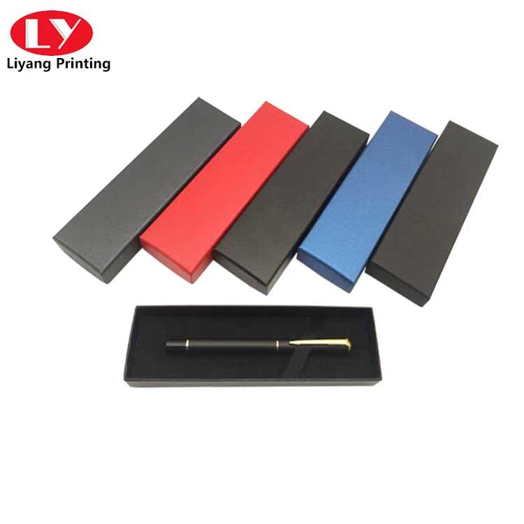 pen packaging gift box with sponge and stamping