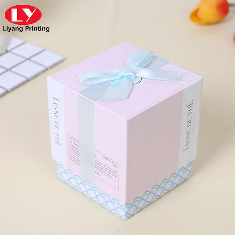 High quality perfume candle crystal gift box