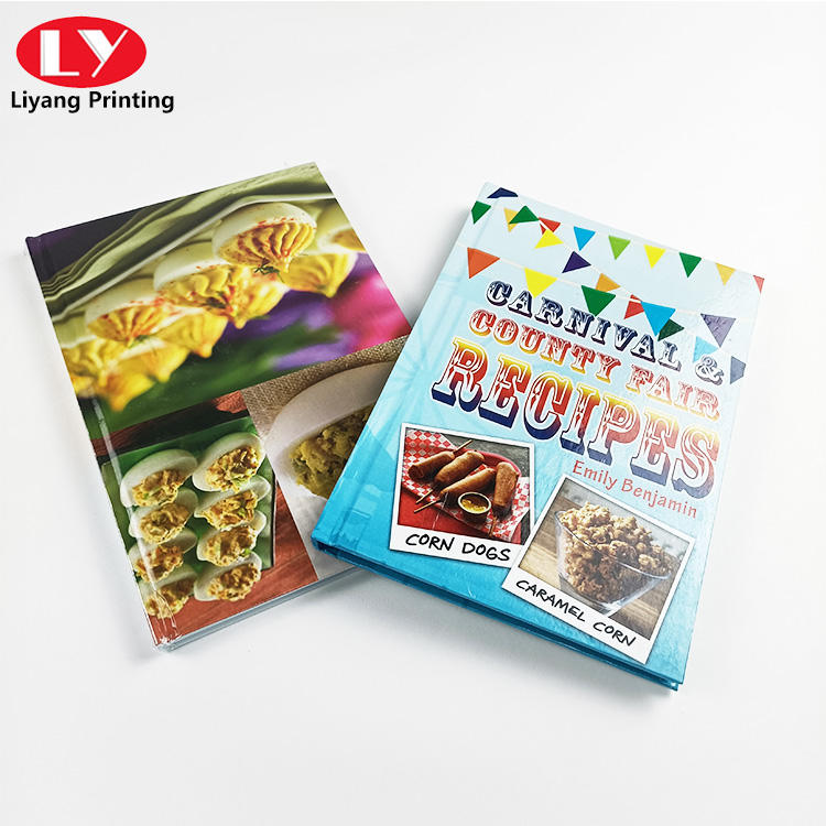 High quality customized cover brochure
