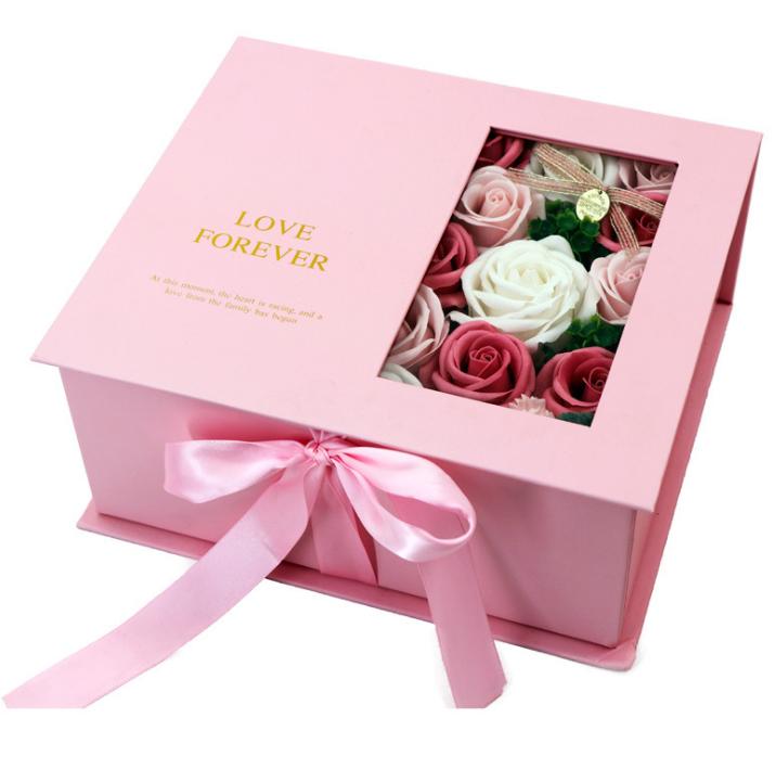 Custom Handmade Flower Box With Window