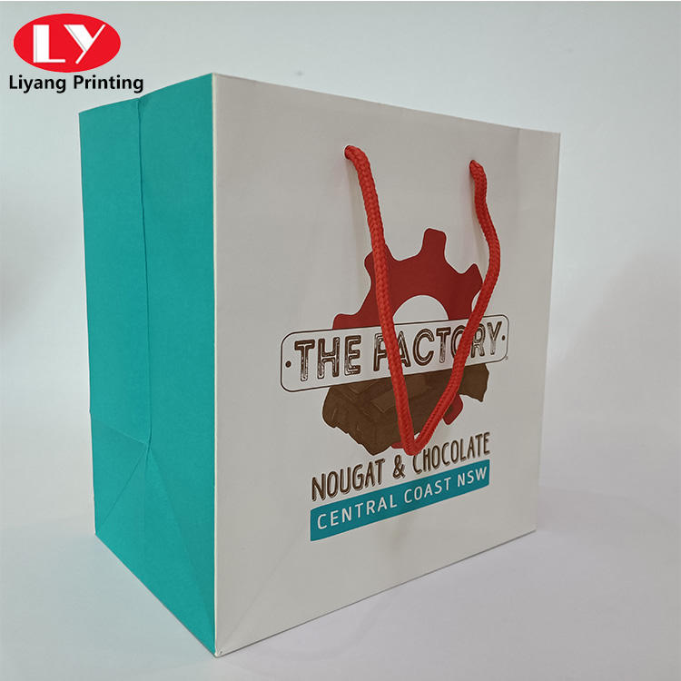 art paper high quatity chocolate food paper bag