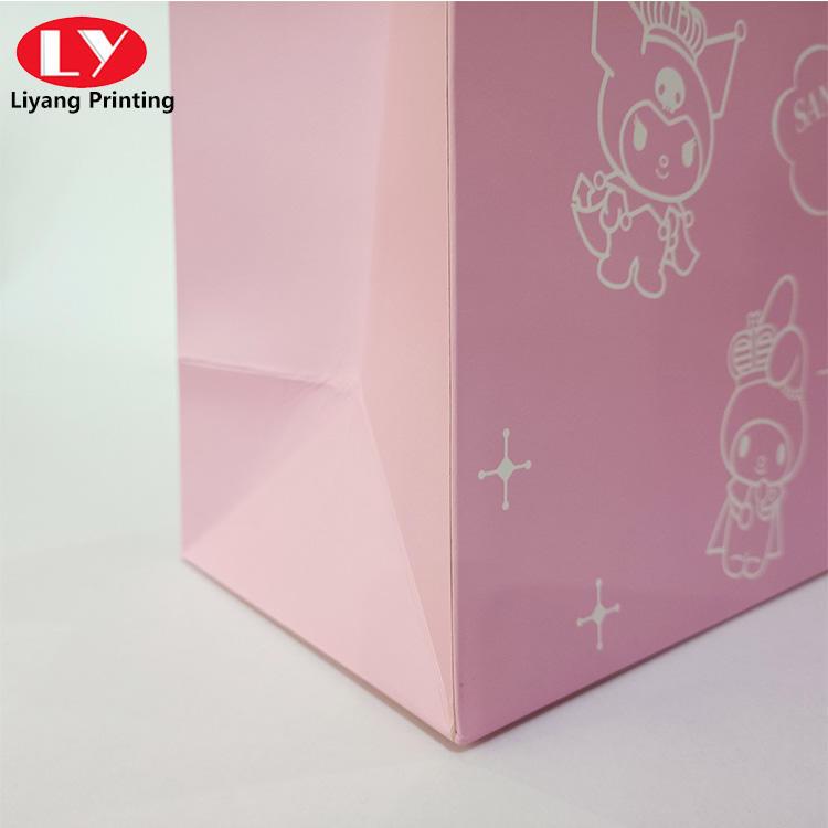 paper gift bag for skincare cosmetic packaging bag