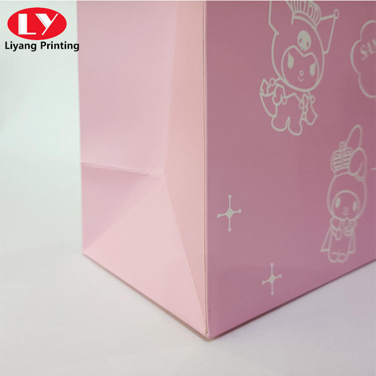 paper gift bag for skincare cosmetic packaging bag