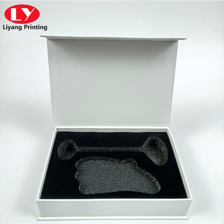 hot sell facial cleaning tool packaging box with sponge insert packaging box