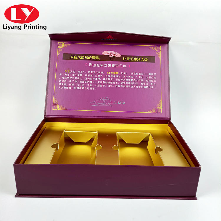 High quality wine glass cup or delicate dress set of banquet packaging gift box