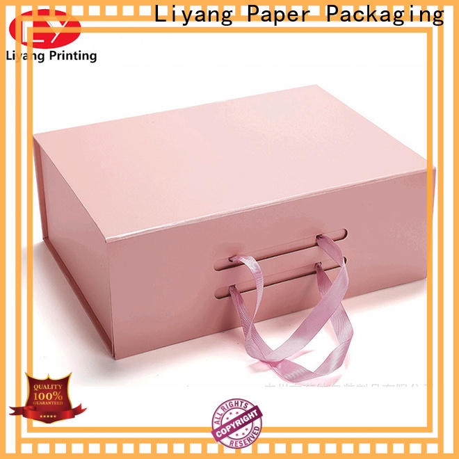 Liyang Paper Packaging special design shoe box women's shoes best price