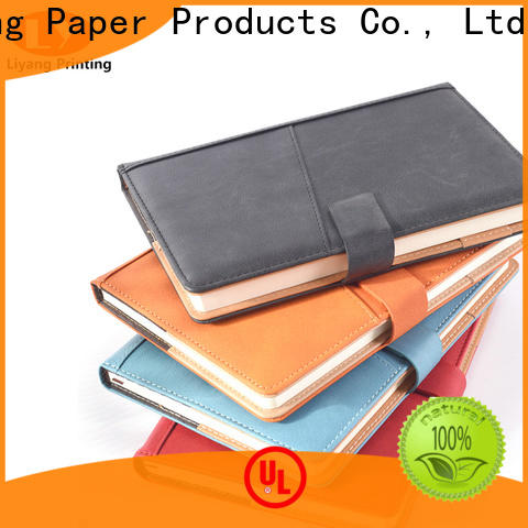 Liyang Paper Packaging plain notebook factory price free sample