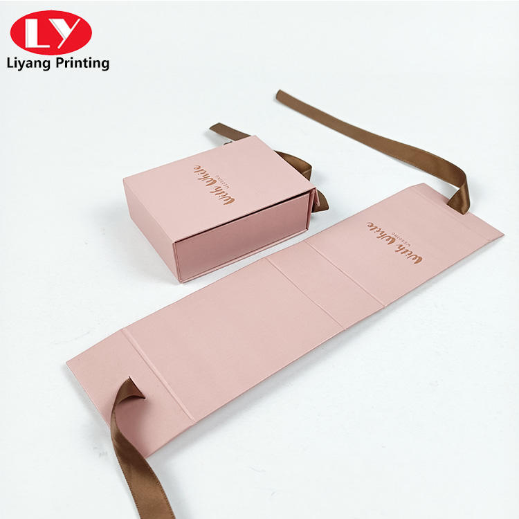 Special folding gift box for handmade soap or false eyelash packaging box