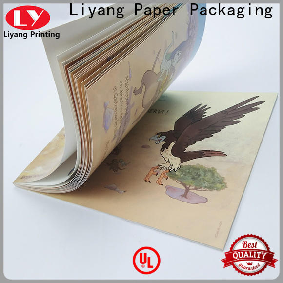 Liyang Paper Packaging book printing services factory direct supply short lead time