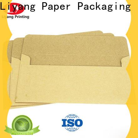 Liyang Paper Packaging delicate design printable envelopes wholesale free sample