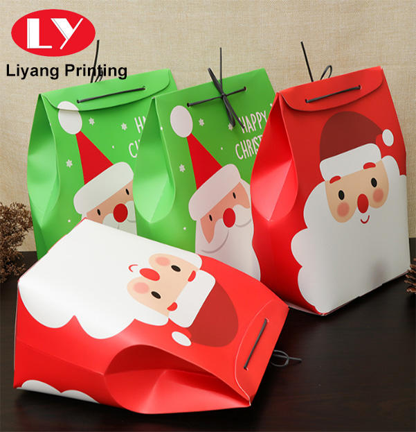 Christmas Gift Packaging Box Red Green Custom OEM Food Apple Packaging Gift Box