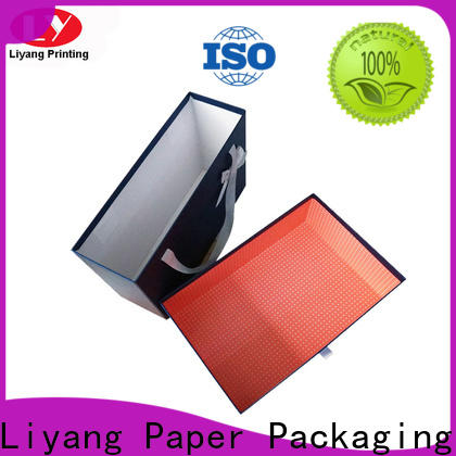 Liyang Paper Packaging gift boxes for clothes oem & odm for clothing