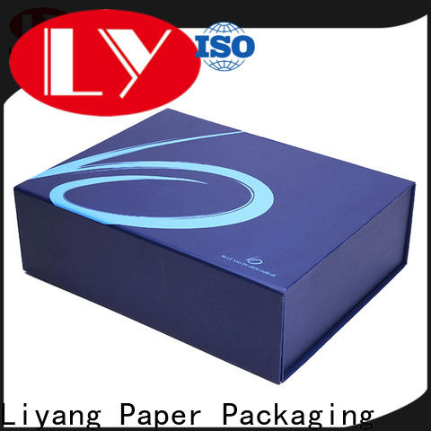 Liyang Paper Packaging latest clothing boxes oem & odm for clothing