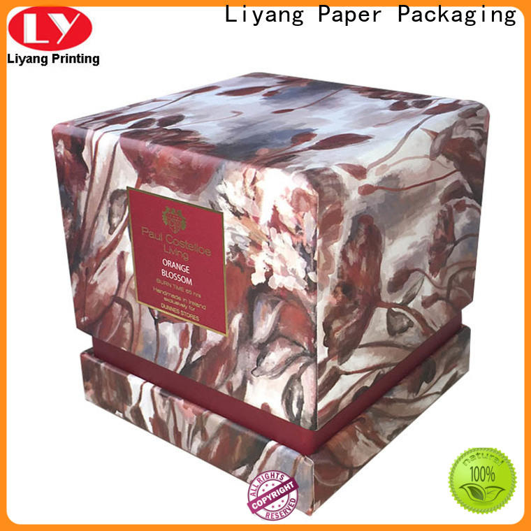 Liyang Paper Packaging candle box packaging best price free sample