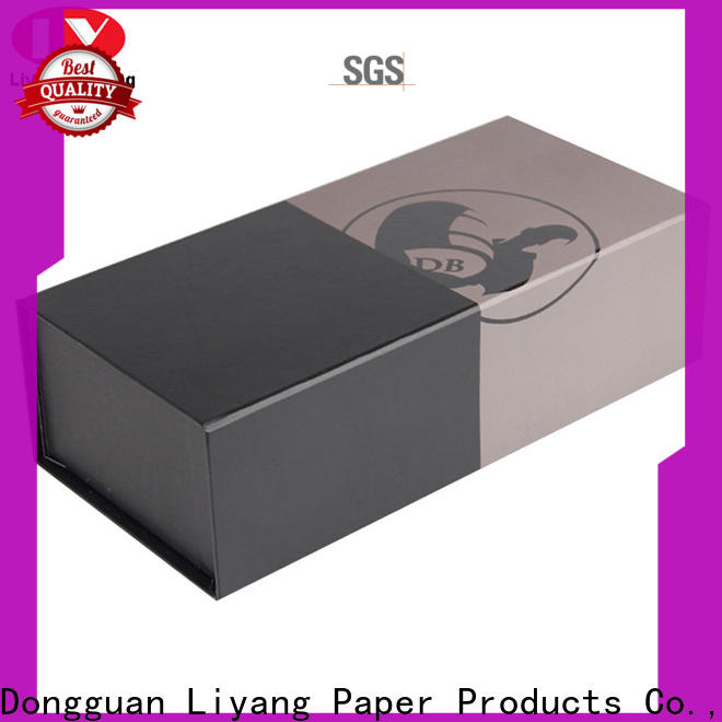 logo printed wine gift box cardboard high quality for pint