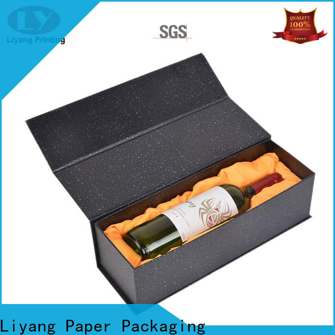 Liyang Paper Packaging paper wine box factory supply free sample