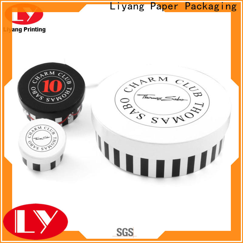 Liyang Paper Packaging round cardboard boxes all sizes for xmas