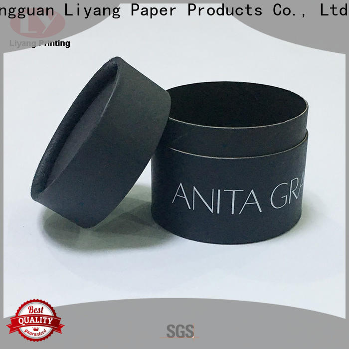 Liyang Paper Packaging round box wholesale for bracelet