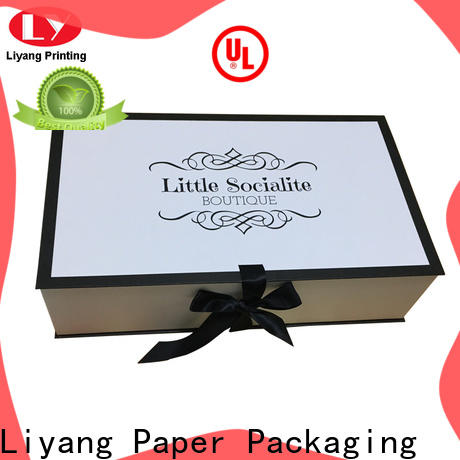 foldable custom clothing packaging custom brand for clothing