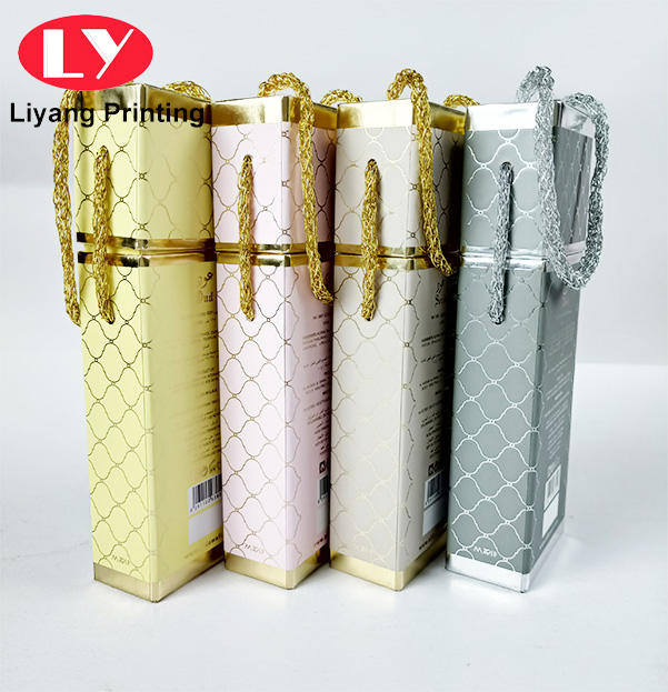 Luxury perfume set gift boxes with handle