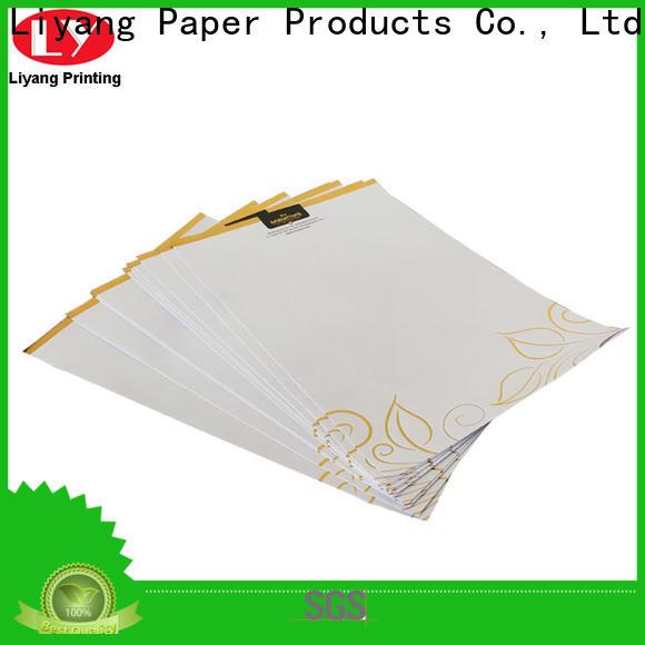 logo printed presentation folders printing bulk supply sticker label