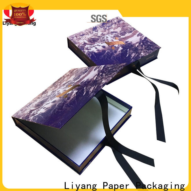 Liyang Paper Packaging custom clothing packaging custom logo for packaging