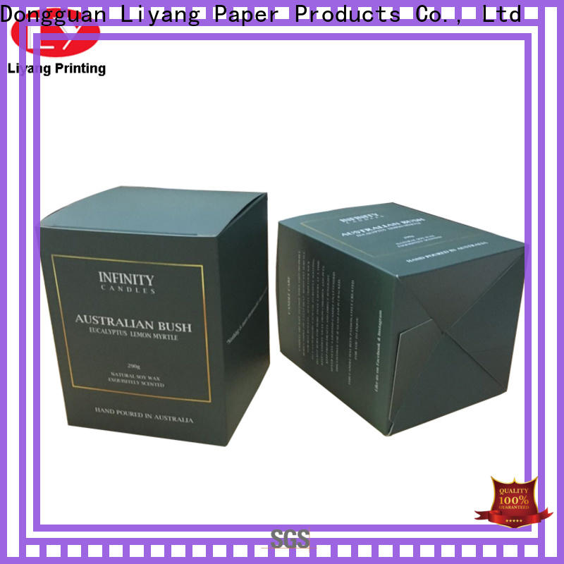 Liyang Paper Packaging special style candle box fast delivery