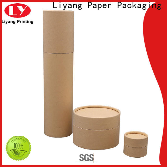 Liyang Paper Packaging round box wholesale for xmas