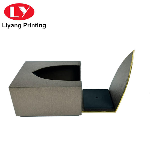 special shape texture paper luxury perfume gift box