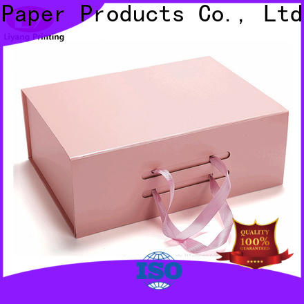 Liyang Paper Packaging shoe box storage for shoes factory direct supply fast delivery