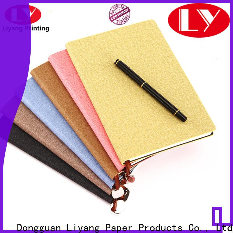Liyang Paper Packaging paper notebook special offer bespoke service