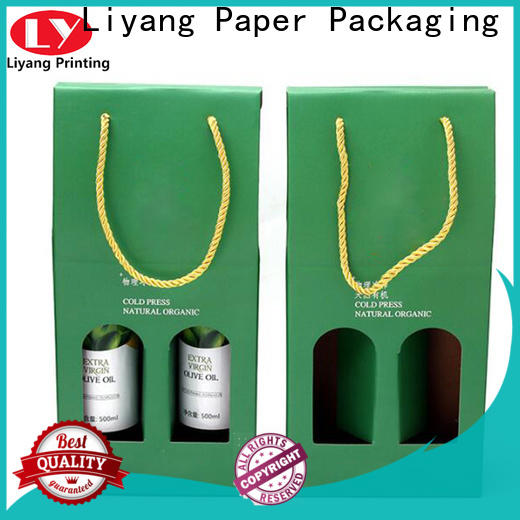 Liyang Paper Packaging hot-sale wine box packaging factory supply for pint