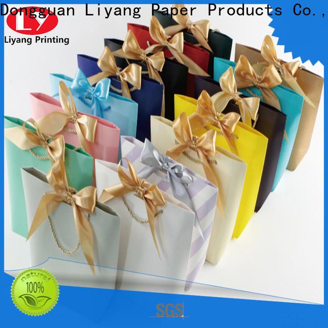 Liyang Paper Packaging paper shopping bags bulk supply for women