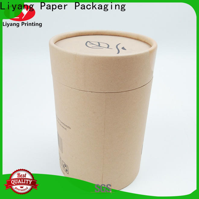 Liyang Paper Packaging top-selling round box with lid environmental-friendly for retail shop