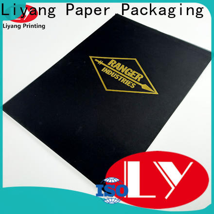 paper pocket folders factory price with logo