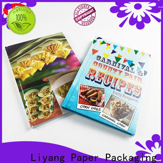 Liyang Paper Packaging hot-sale style book printing services factory direct supply short lead time