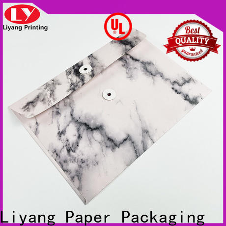 Liyang Paper Packaging durable card folders factory price fast delivery