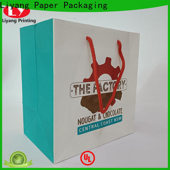 Liyang Paper Packaging paper gift bags at discount for lady