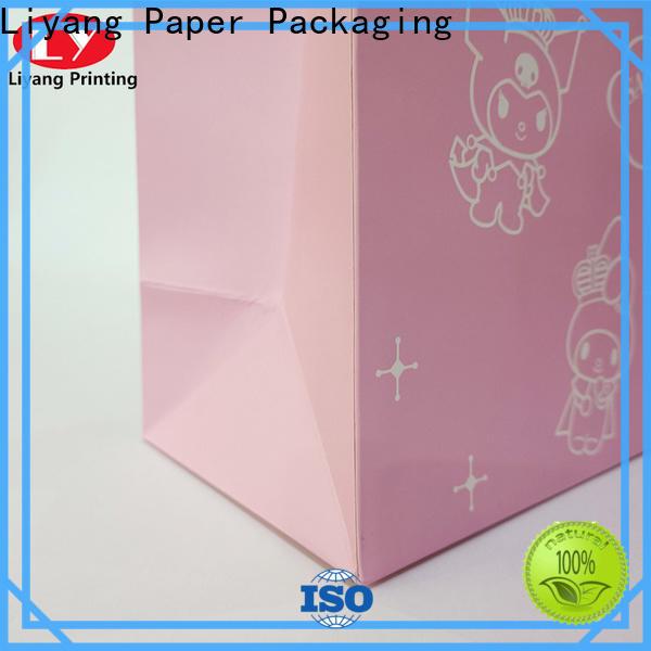 Liyang Paper Packaging paper shopping bags logo printed for lady