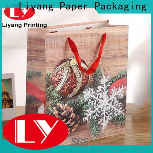 Liyang Paper Packaging paper shopping bags logo printed for girl