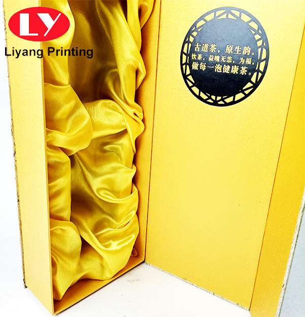 tea packaging gift box luxury with cardboard insert