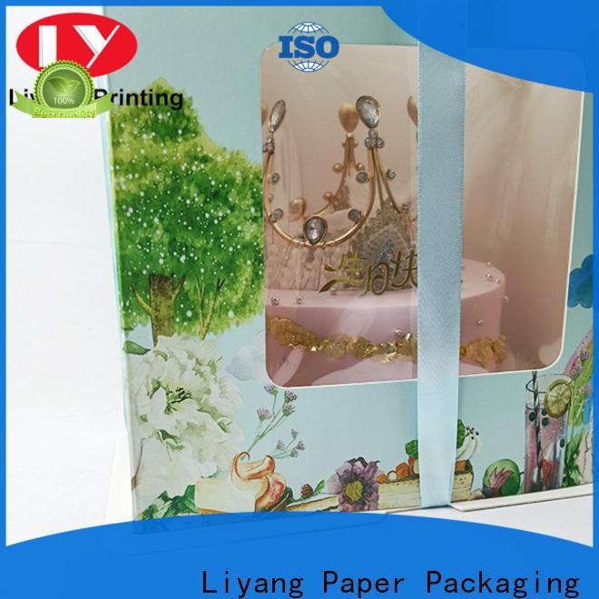 Liyang Paper Packaging high-quality custom food packaging free sample for display