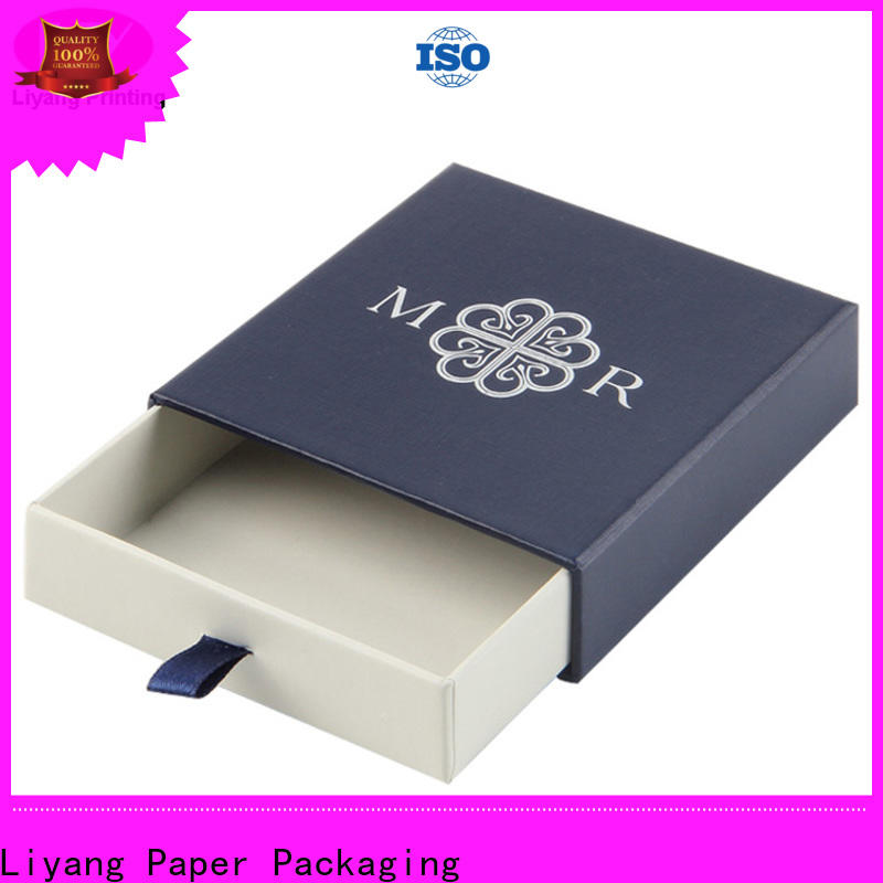 Liyang Paper Packaging durable paper jewelry box at discount for small bracelet