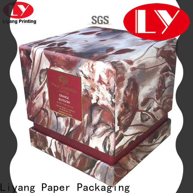 Liyang Paper Packaging colorful candle box packaging fast delivery for restaurants