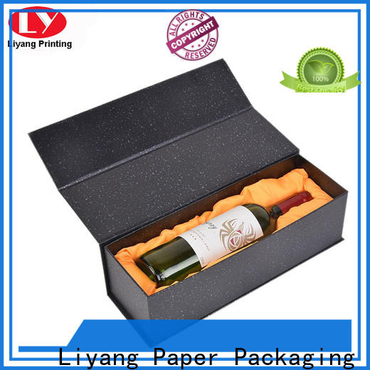 Liyang Paper Packaging hot-sale wine gift box cardboard wholesale for pint