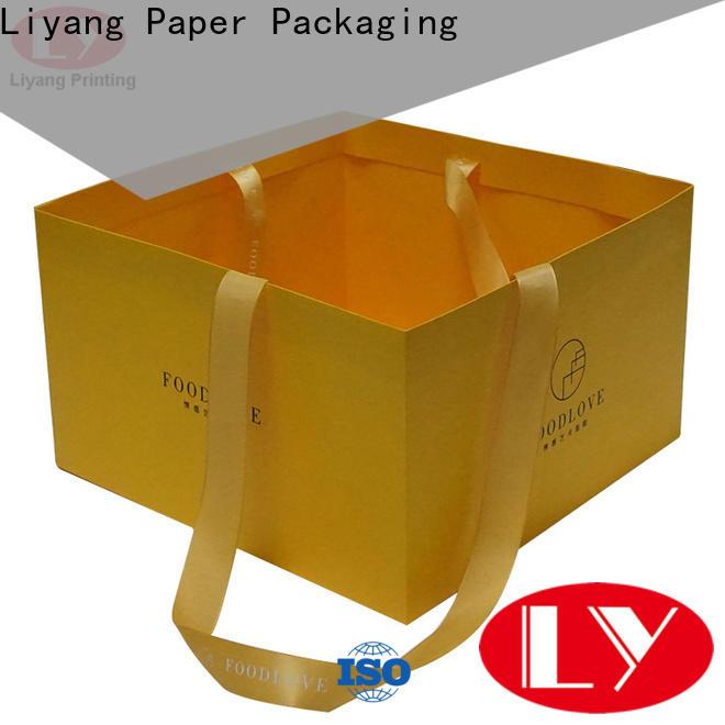 kraft material paper gift bags bulk supply for food